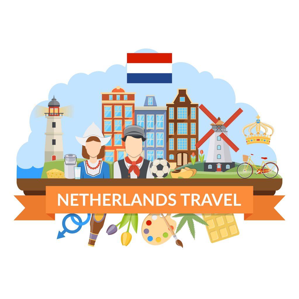 آموزش زبان هلندی در سفر