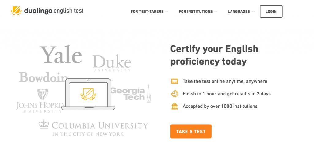 آزمون دولینگو مورد قبول کدام دانشگاههاست؟